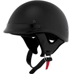 2009_skid_lid_traditional_solid_helmet_flat_black